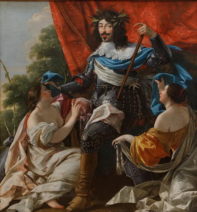 "С. Вуэ. ""Портрет Людовика XIII"""