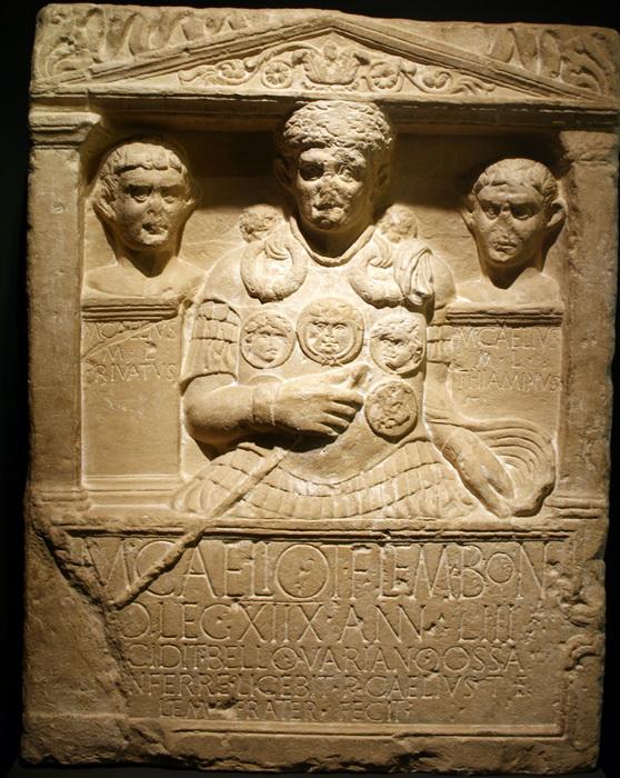 Кенотаф римского центуриона Марка Целия