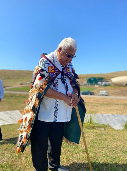 Представители племени маори участвовали в торжественной церемонии открытия школы