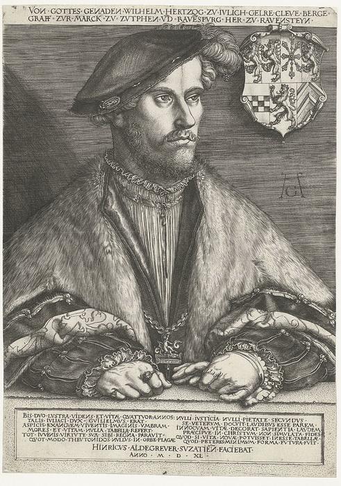 Герцог Вильгельм, брат Анны