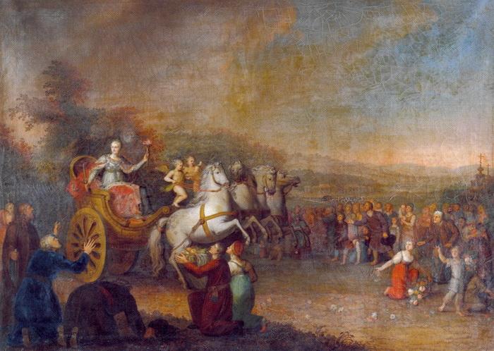 Путешествие готовилось очень основательно - Екатерина знала, что находится в фокусе внимания европейских держав
