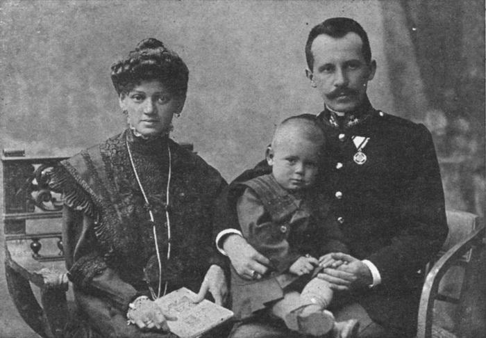 Семья Кароля Войтылы - родители и старший брат Эдмунд