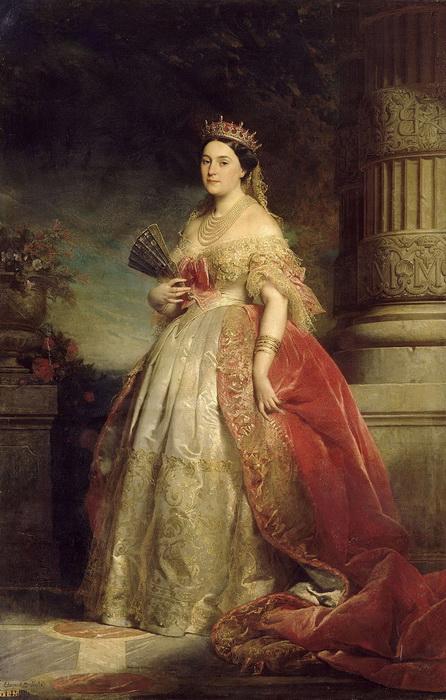 Матильда Бонапарт, незадолго до замужества расторгнувшая помолвку с будущим императором Наполеоном III