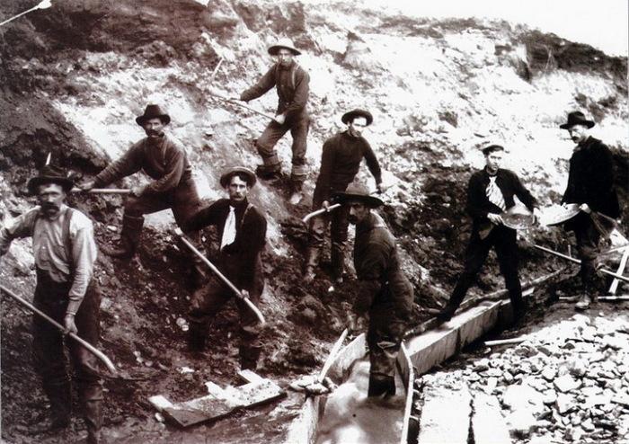 Золотоискатели XIX века