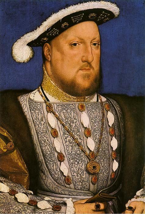 Г. Гольбейн-мл. Портрет Генриха VIII