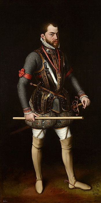 А. Мор. Филипп II