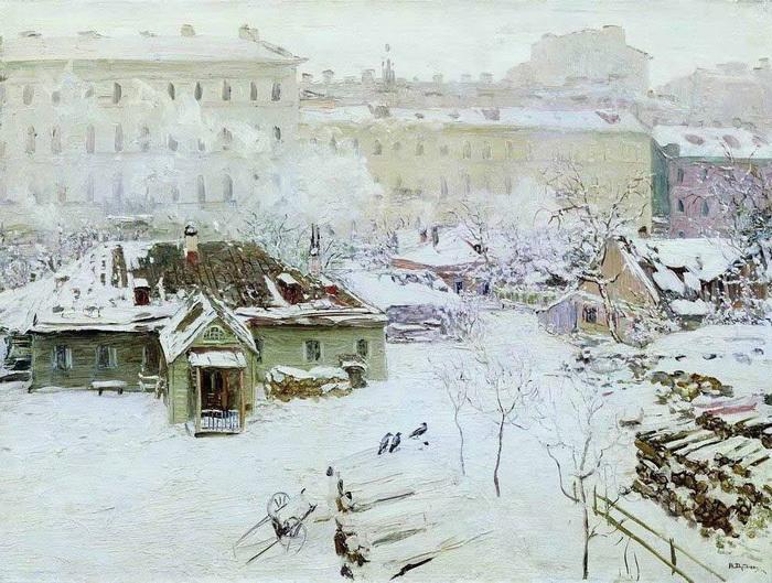 Н. Дубовской. «Первый снег»