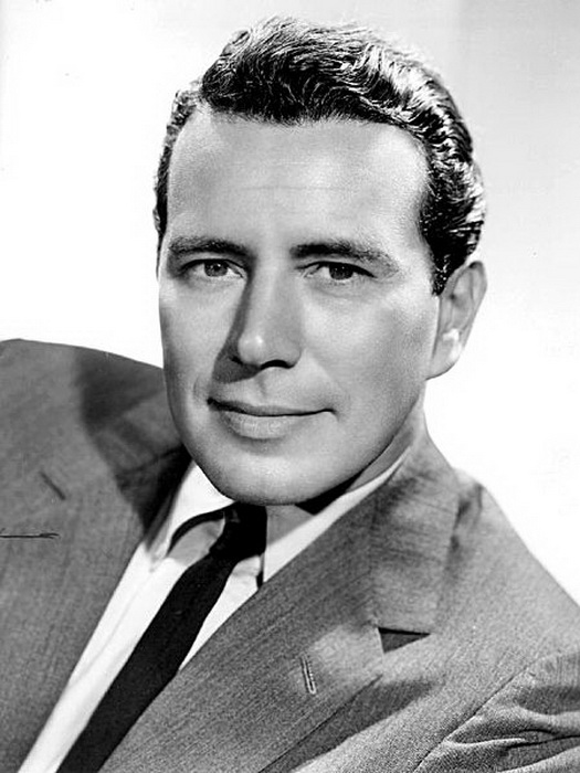 Джон Форсайт в 1957 году