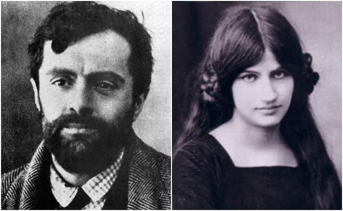 Амедео Модильяни и Жанна Эбютерн