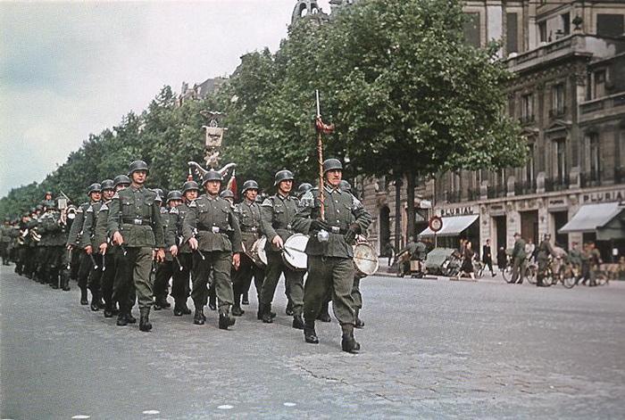 На протяжении четырех лет Париж оставался оккупированной территорией