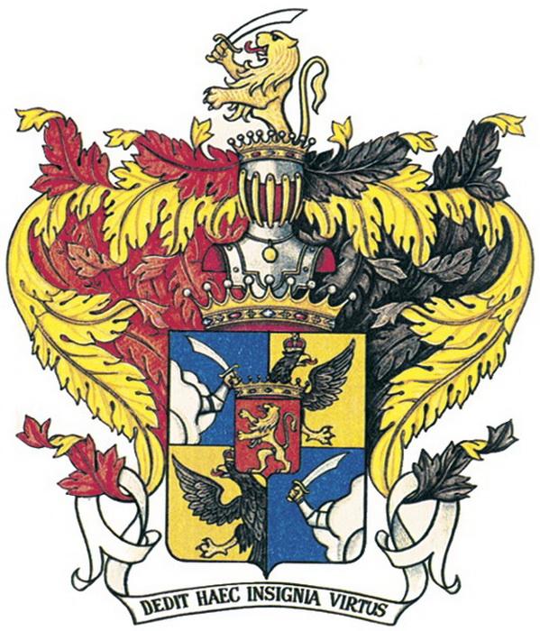 Герб графов Головкиных. Слово «герб» происходит от немецкого erbe - «наследство»