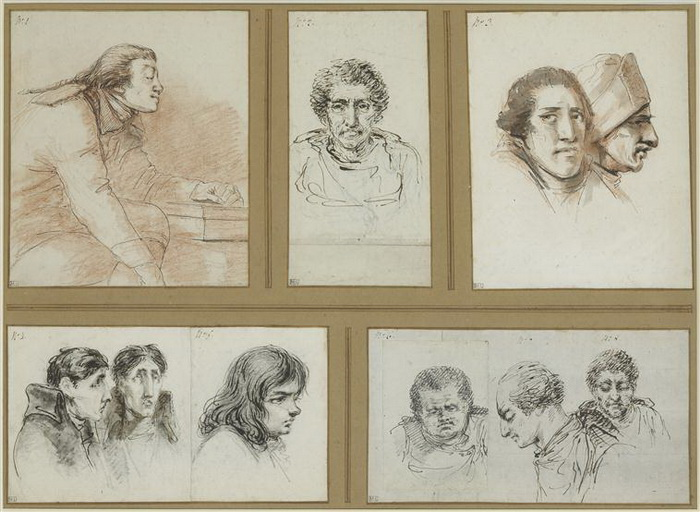Портреты, созданные во время судебных процессов