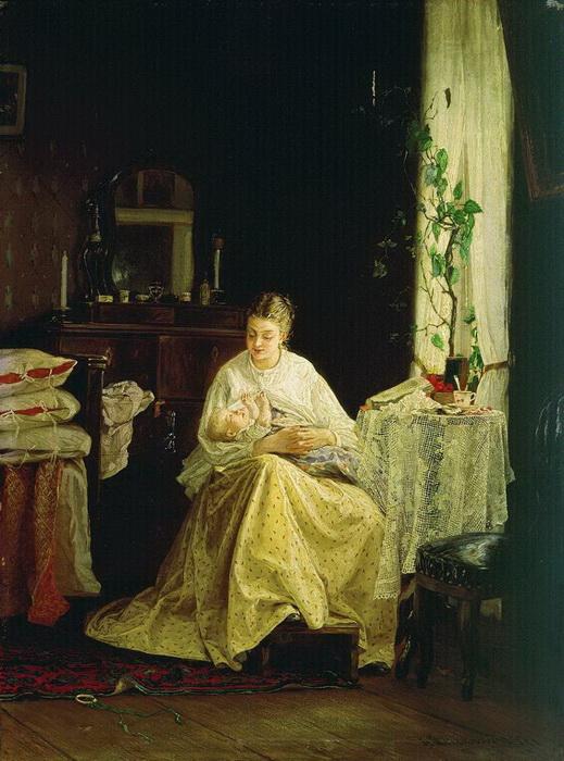 В. Максимов. Материнство