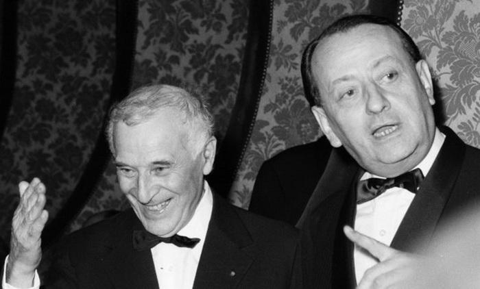 М. Шагал и А. Мальро