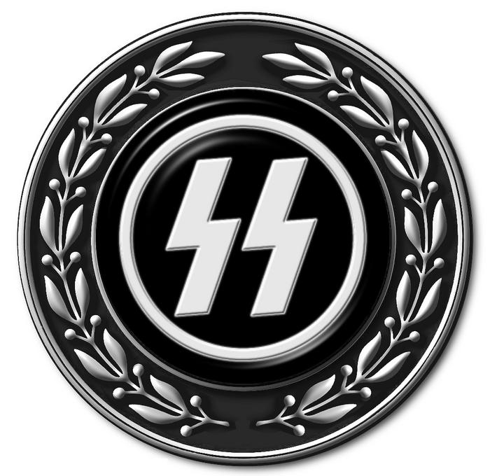Руны были частью символики формирований СС