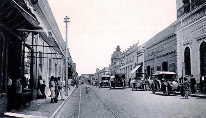 Так выглядел Асунсьон в первые десятилетия 20 века