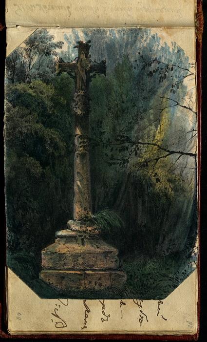Из альбома Елизаветы Нееловой, современницы Пушкина, жившей в Царском Селе