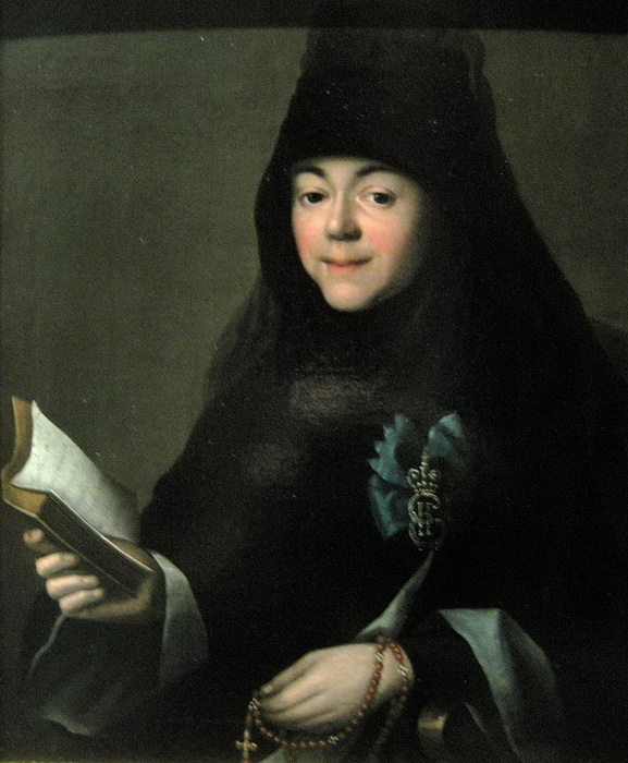 Дочь Шкурина Мария постриглась в монахини под именем Павла