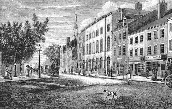 Бродвей - одна из самых старых улиц Нью-Йорка
