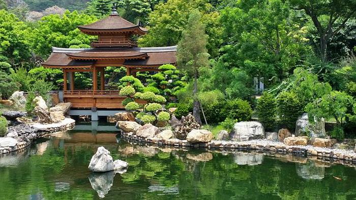 Буддийский храм в Японии