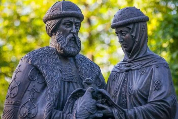 8 июля - день почитания святых Петра и Февронии