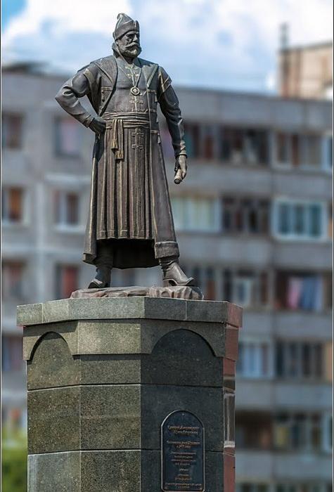 В городе Пушкино установлен памятник Григорию Пушке