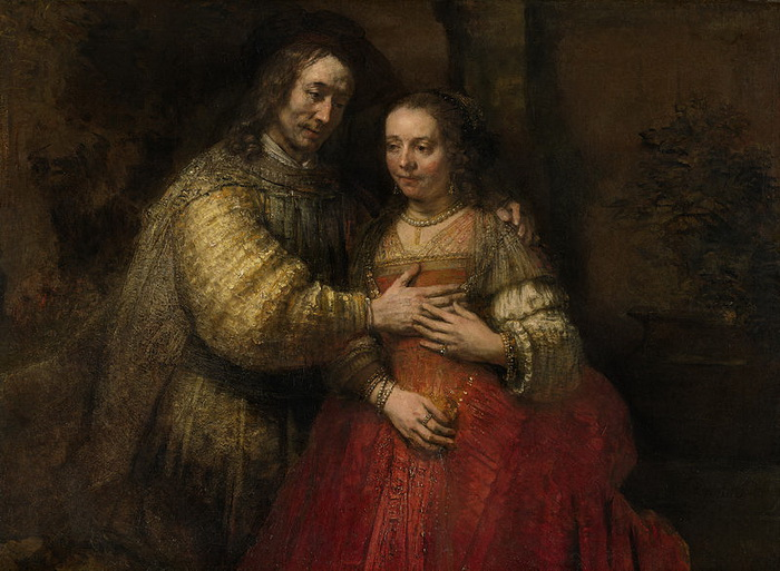 """Рембрандт. """"Еврейская невеста"""""""