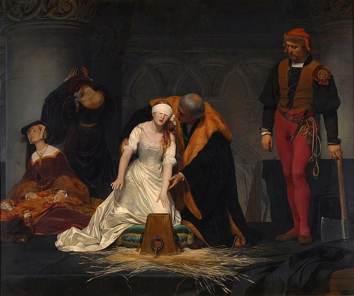 Джейн Грей приобрела славу первой протестантской мученицы