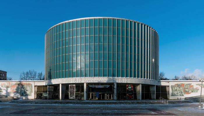 Здание, где размещается панорама в наши дни