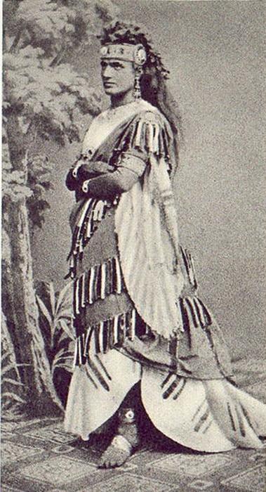 Тереза Штольц, исполнившая партию Аиды на европейской премьере оперы в 1872 году. Имя Аида было придумано специально ради этого произведения и впоследствии прижилось - так стали называть девочек