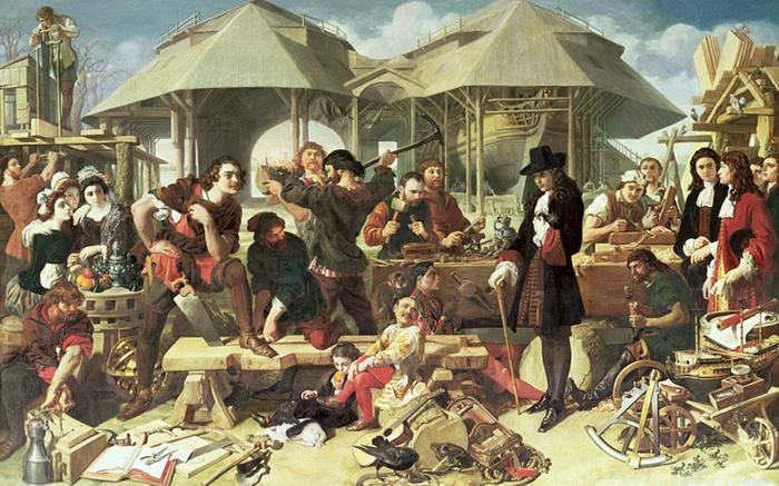 Великое посольство Петра в 1697-1698 годах состоялось при участии Патрика Гордона и Франца Лефорта