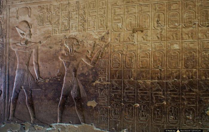 Абидосский список и таблица Абидоса дали ученым возможность далеко продвинуться вперед в изучении древних иероглифов