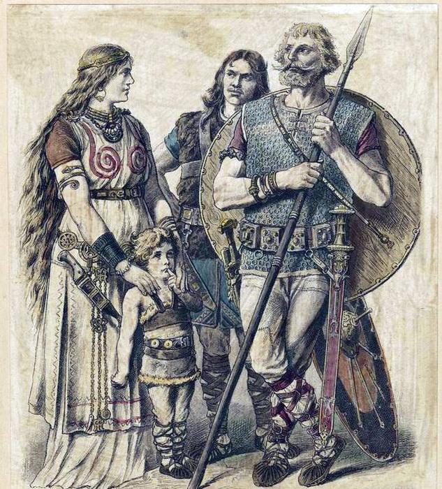 Благодаря германцам в праславянском языке появилось множество заимствований