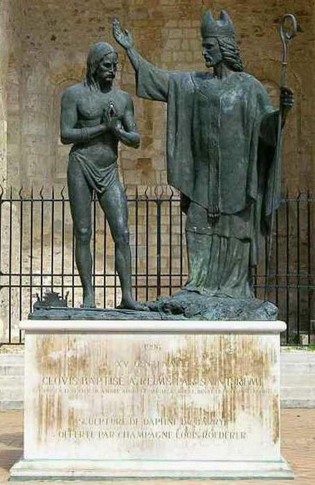 Крещение Хлодвига Святым Ремигием (базилика Сен-Реми в Реймсе)