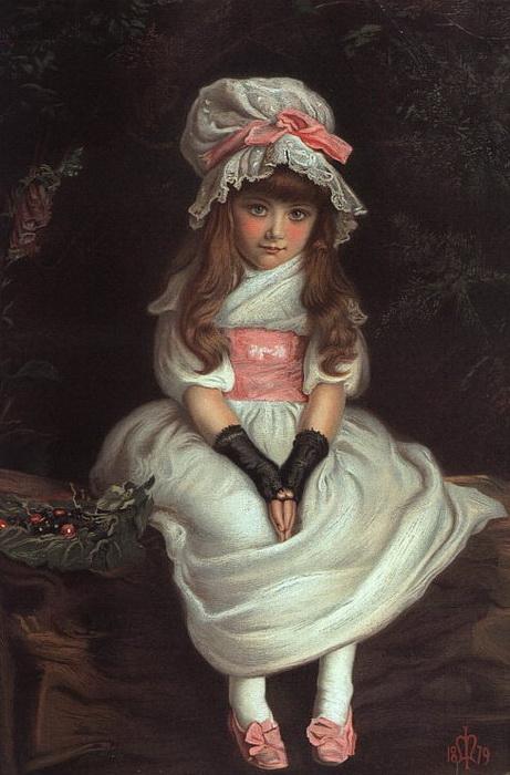 """""""Спелая вишня"""", картина, на которой изображена Пенелопа Бутби, стала одним из самых копируемых произведений Милле"""
