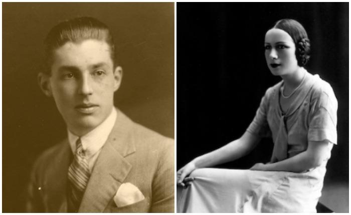 Отец и мать Мари-Элен Демонжо