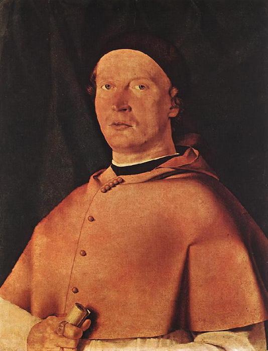 """Л. Лотто. """"Портрет епископа Бернардо де Росси"""""""