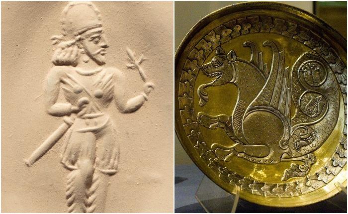 Империя сасанидов, которая пала под натиском ислама, была развитым и процветающим государством, просуществовав больше четырех веков