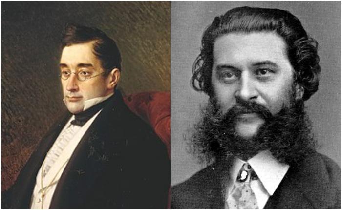 Александр Грибоедов и Иоганн Штраус-младший