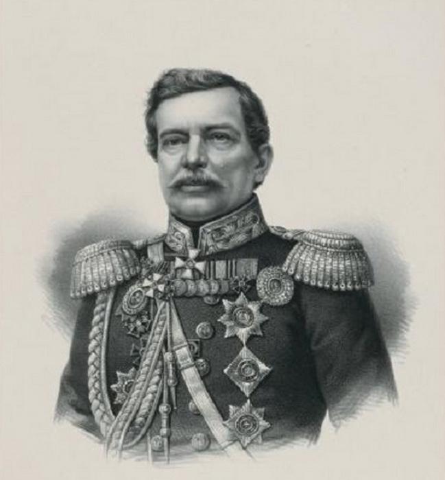 Николай Муравьев-Карский, один из секундантов второй части дуэли