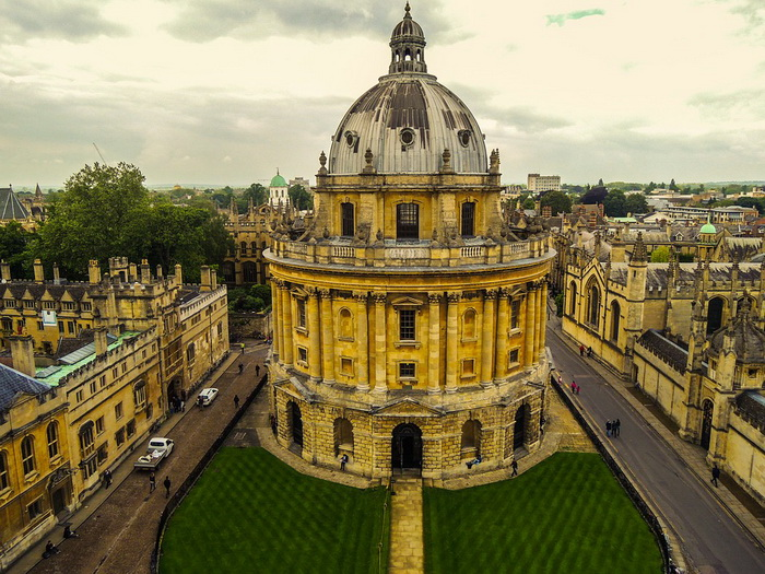 Здание Бодлианской библиотеки в Оксфорде, оспаривающей у Ватикана звание старейшей в Европе
