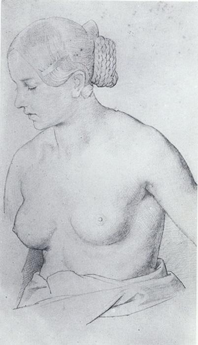 """Рисунок Шнорра, в котором прослеживается заметное сходство с """"принцессой"""""""