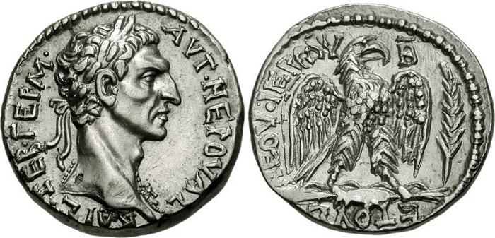 Монета с изображением императора Нервы