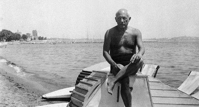 Пабло Пикассо на Французской Ривьере