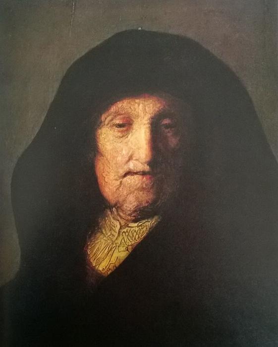 Мастерская Рембрандта. Портрет матери Рембрандта