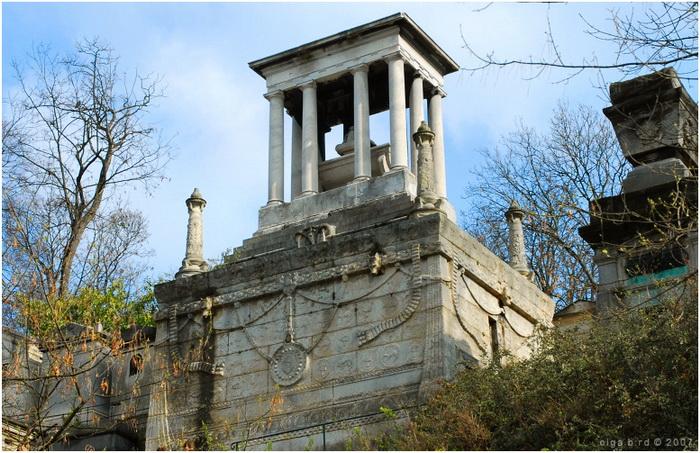 Склеп Демидовых, где похоронена Елизавета Александровна