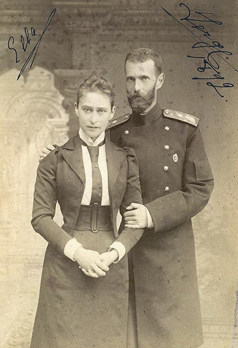 Великий князь Сергей Александрович с женой, Елизаветой Федоровной