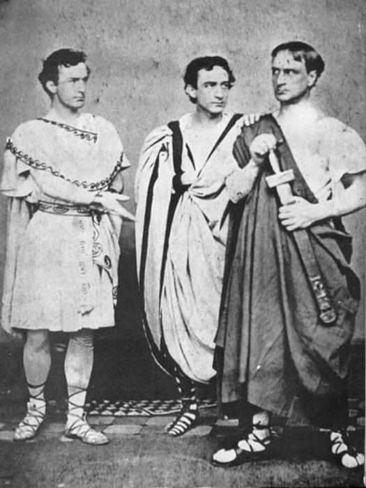Эдвин Бут с братьями