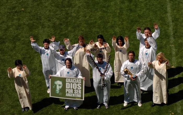 Участники культа Марадоны
