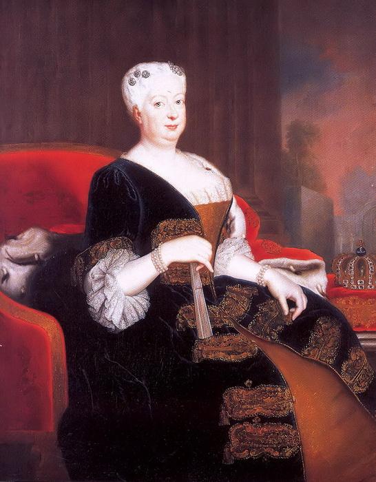 Г.В. фон Кнобельсдорф. Портрет Софии Доротеи Ганноверской